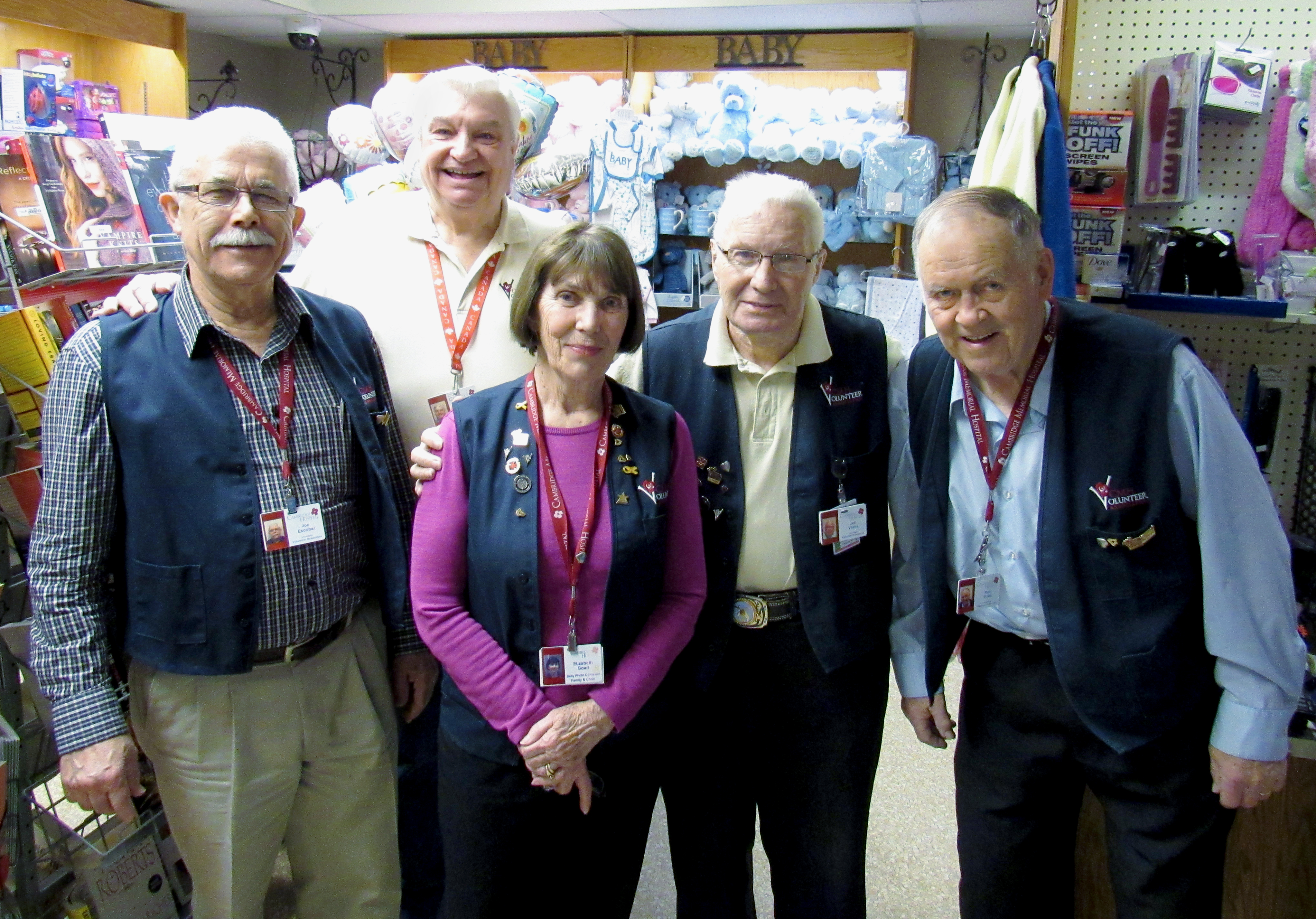 Volunteers | Cambridge Memorial Hospital